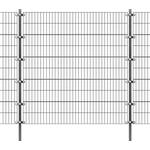 Havehegne vidaXL Fence Panel with Posts 6mx200cm 142568
