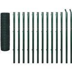 Trådhegn vidaXL Euro Fence Set 25mx170cm 142402