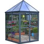 Sekskantet drivhus Drivhuse Palram Oasis 6.1m² Aluminium Polycarbonat