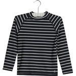 T-shirt Børnetøj Wheat Swim Dilan LS T-shirt- Navy