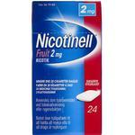 Nicotinell Fruit 2mg 24stk