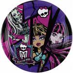 Tallerkener Amscan Plates Monster High 2 8-pack