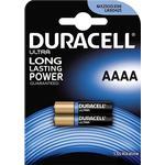 Engangsbatterier Duracell Ultra AAAA 2-pack