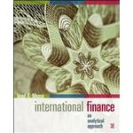 International Finance: an analytical approach (Häftad, 2009)