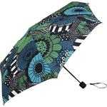 Paraplyer Marimekko Mini Umbrella Transfer Garden White/Green/Black (041405)