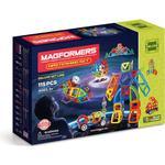 Legetøj Magformers Mastermind 115pc Set