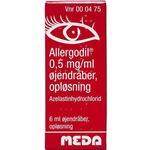 Irriterede øjne Allergodil 6ml