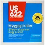 Myggemiddel US622 Mosquito Spiral