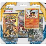 Pokémon Sun & Moon Booster Packs with Bonus Litten Promo Card & Coin