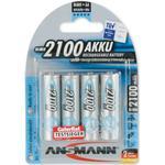 Batterier til lommelygter Ansmann NiMH Mignon AA 2100mAh MaxE Compatible 4-pack