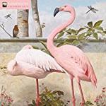 Flamingoes Wall Calendar 2019 (Art Calendar)
