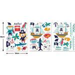 Pirater Børneværelse Walltastic Pirate Wall Stickers 45002