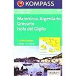 651: Maremma - Argentario - Grosseto-Isola Del Giglio 1:50, 000