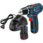 Gsr 12v Boremaskiner og Skruemaskiner Bosch GSR 12V-15 FC Professional (2X1.5Ah)