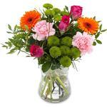 Buket blomster Kærlighed blomster Blandede blomster