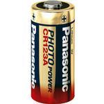 Kamerabatterier Panasonic CR123A