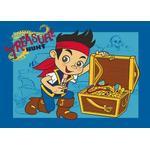 Pirater Børneværelse Jake Treasure Hunt 95x133cm