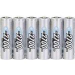 Batterier til lommelygter Ansmann NiMH Mignon AA 2700mAh Compatible 6-pack