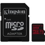 Micro sd kort 32 gb class 10 Hukommelseskort Kingston Canvas React microSDHC Class 10 UHS-I U3 V30 A1 100/80MB/s 32GB +Adapter