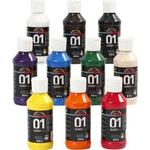 A Color Acrylic Paint Glossy 01 10x100ml