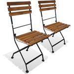 Armløs stol Havemøbler vidaXL 43734 2-pack Armløs stol