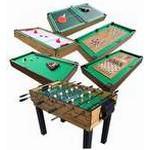 Bordspil Megaleg Multibord 9i1 Fodbold/Pool/Hockey/Tennis