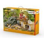 Legetøj Schleich Schleich Wild Life Jungle Forskningsstation Croco 42350