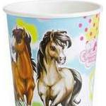 Amscan Paper Cup Charming Horses 2 250ml 8-pack