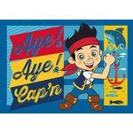 Pirater Børneværelse Associated Weaver Disney Jake og Piraterne Tæppe 95x133cm
