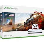 Xbox One - 2160p (4k Ultra HD) Spillekonsoller Microsoft Xbox One S 1TB - Forza Horizon 4