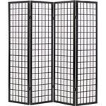 Rumdeler vidaXL 4 Panels Japanese Syle 160cm