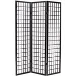 Rumdeler vidaXL 3 Panels Japanese Style 120cm
