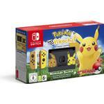 Nintendo Switch Online Service Spillekonsoller Nintendo Switch - Yellow - Pokémon: Let's Go, Pikachu