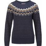 Dametøj Fjällräven Övik Knit Sweater W - Dark Navy