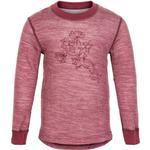 Sweatshirt Børnetøj CeLaVi Blouse - Maroon Red (5063-496)