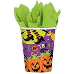 Amscan Paper Cup Witches' Crew Paper 266ml 8-pack