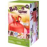 Balloon Time Helium Gas Cylinder Standard Tanks Red