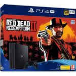 PlayStation VR Spillekonsoller Sony PlayStation 4 Pro 1TB - Red Dead Redemption II