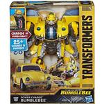 Hasbro Transformers Bumblebee Movie Power Charge Bumblebee Action Figure 10.5""