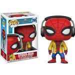 Spider-Man Legetøj Funko Pop! Movies Spiderman Homecoming Spiderman with Headphones