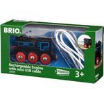 Tog Brio Genopladeligt Lokomotiv 33599
