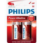 Engangsbatterier Philips LR14P2B 2-pack