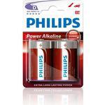 Engangsbatterier Philips LR20P2B 2-pack