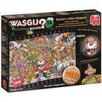 Puslespil Jumbo Wasgij Christmas 14: Santa's Little Helpers! 2x1000 Pieces