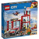 By Legetøj Lego City Brandstation 60215