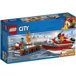 Lego City Brand på havnen 60213