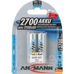 Ansmann NiMH Mignon AA 2700mAh Compatible 2-pack