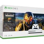 Spillekonsoller Microsoft Xbox One S 1TB - Anthem Bundle