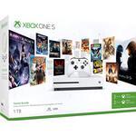 Xbox One - 2160p (4k Ultra HD) Spillekonsoller Microsoft Xbox One S 1TB - Starter Bundle