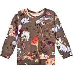 Sweatshirt Børnetøj Molo Marina - Evergreen Flowers (2S19J214 4809)